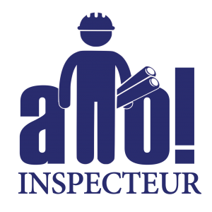 Allo Inspecteur - Service d'information, d'éducation et de conseil en matière d'inspection en bâtiments, sans engagement et surtout, 100% gratuit - Logo sur fond transparent