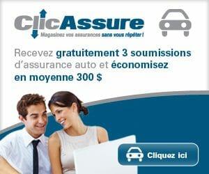 ClicAssure - Comparateur d'assurance n°1 au Québec